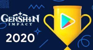 Genshin Impact es premiado por Google Play y Apple