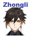 Personajes de nivel S - Zhongli